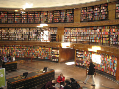 Public Library in Stockholm