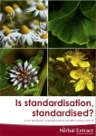 Cover of Ian's Standardisation brochure for Herbal Extract Company