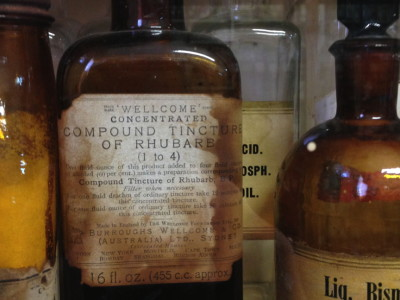 Compound Tincture of Rhubarb