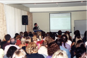 Ian presenting at the 5th International Conference on Phytotherapeutics, 2004