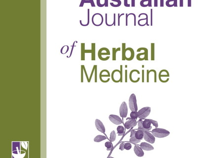 Australian Journal of Herbal Medicine cover
